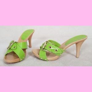 NWOT Lime green heels